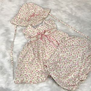 Toddler Floral Print Dress Set